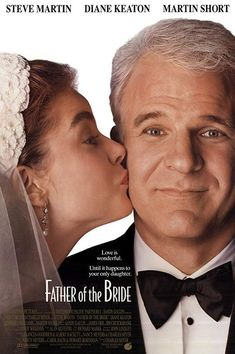 With Steve Martin, Diane Keaton, Martin Short, Kimberly Williams-Paisley. With his oldest daughter's wedding approaching, a father finds himself reluctant to let go. Kimberly Williams, Kieran Culkin, Father Daughter Wedding, Father Of The Bride, Diane Keaton, The Bride Movie, Martin Short, Paisley, One Of The Guys