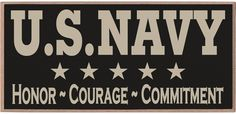U.S. #Navy Honor Courage Commitment, (http://www.countrymarketplaces.com/u-s-navy-honor-courge-commitment/)