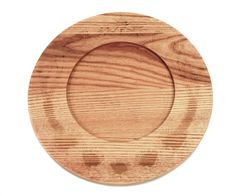 Fynbos solid Ash wood under-plate with detailed Fynbos engravings. Available at Essential Life.