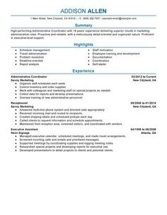 14 Best Perfect Resume Examples images in 2019 | Sample resume ...
