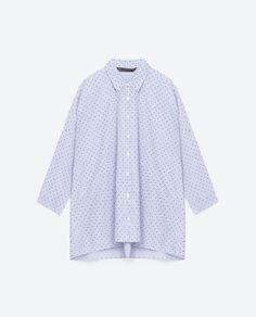 Image 8 of OVERSIZED SHIRT from Zara