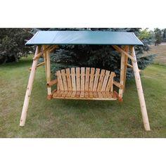 Lawn Swing, Patio Swing, Porch Swings, Pergola Plans, Diy Pergola, Rustic Pergola, Corner Pergola, Wooden Pergola, Gazebo
