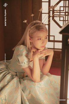 Why Mamamoo is empowering women:Solar: Her character is a princess/queen but she doesn't behave like we would picture someone royal. At the end of the teaser, she ripped off her dress and wore pants. Kpop Girl Groups, Korean Girl Groups, Kpop Girls, Solar Mamamoo, K Pop, Kpop Wallpaper, Wheein Mamamoo, Maker, K Idols