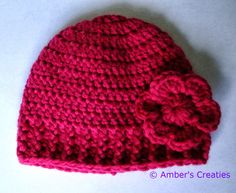 How can you crochet a good fitting beanie - Ambers Creaties (in Dutch)