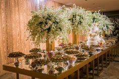 Casamento moderno - Mesa de doces