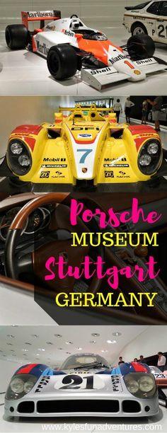 The Porsche Museum in Stuttgart, Germany