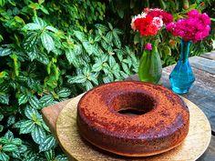 Bolo Funcional de Chocolate com Coco Sem Glúten e Sem Lactose