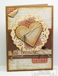 Just Because ~ All Natural by thecircleguru - Cards and Paper Crafts at Splitcoaststampers