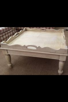 Broyhill Attic Heirlooms Coffee Table In Eggshell Color ❤️
