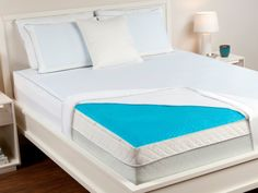 Hydraluxe Always Cool Gel Mattress Pad - OMG, yes!!!