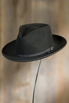 aa250346ca8 Stetson Stratoliner Fur Felt Gambler Hat