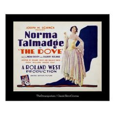 #vintage - #Norma Talmadge Lobby Card 24x20 poster
