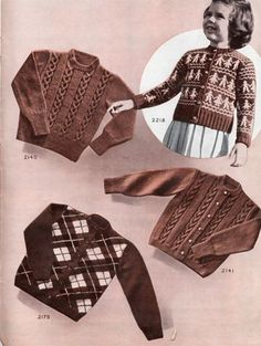 1950 sweaters / vests / pullovers / vintage clothing
