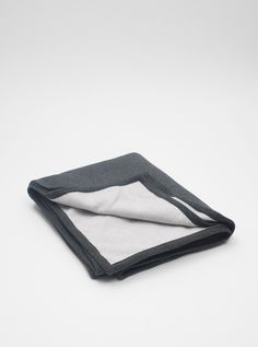 Reigning Champ Recycled Fleece Blanket Charcoal