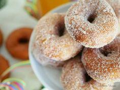 Parhaat Perinteiset Munkkirinkilät | Annin Uunissa Bagel, Doughnut, Baked Goods, Sweet Recipes, Donuts, Biscuits, Vegetarian Recipes, Sweet Tooth, Cupcake