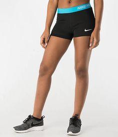 http://www.finishline.com/store/catalog/product.jsp?productId=prod786768  Women's Nike 3 Inch Pro Core Compression Shorts