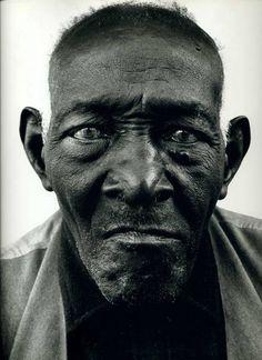 """Richard Avedon, """"William Casby"""" born in slavery, Algiers, LA, 1963"""