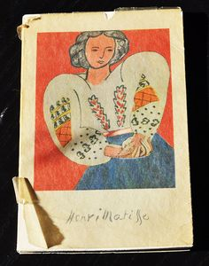 Vintage Art Book of Henri Matisse Drawings by ShopCoolPix on Etsy, $18.00