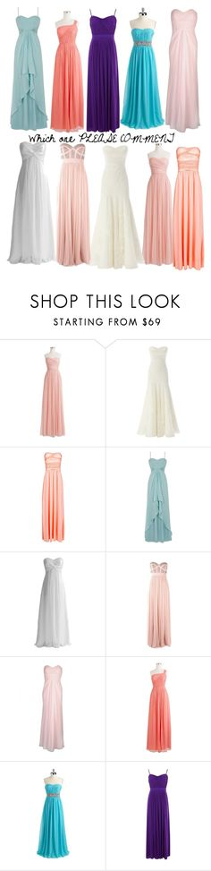 """Which one"" by fandomcreationsandstuff ❤ liked on Polyvore featuring J.Crew, Coast, MANGO, FairOnly, George, Lily and Calvin Klein"
