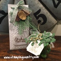 Holiday Catalog Kick Off with Pretty Pines, Jolly Friends & Star of Light - Stamping Country