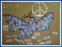 Η ζωή στο Νηπιαγωγείο!: Πολυτεχνείου συνέχεια! Days Of Creation, Kindergarten, November, Christmas Ornaments, Holiday Decor, Noah Ark, Blog, Peace, November Born