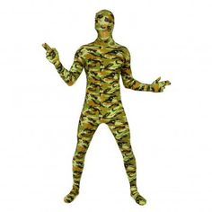 Adult Commando Morphsuit Costume