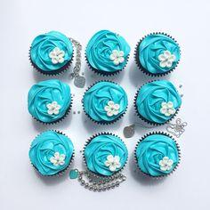 Tiffany Cupcakes <3