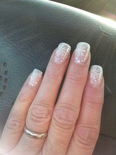 Winter nails done by Tony 11/23/12