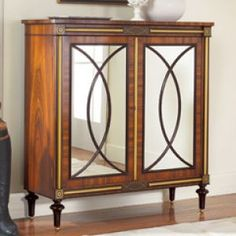 Modern History Mirrored Regency Cabinet - wood and mirrored furniture.jpg