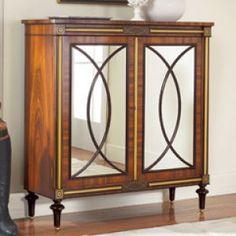 Modern History Mirrored Regency Cabinet - wood and mirrored furniture.jpg