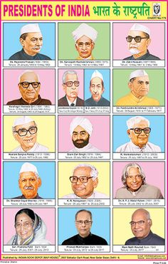 Presidents Of India Chart now updated with Our HON'ble president Shri Ram Nath Kovind. Ancient Indian History, History Of India, General Knowledge Book, Gernal Knowledge, Good Habits For Kids, Preschool Charts, Freedom Fighters Of India, India For Kids, Learning English For Kids