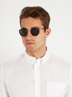 EYEVAN 7285 742 round-frame sunglasses