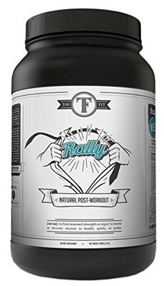 Too Fit Rally - Post Workout Supplement - All Natural Recovery Drink - Best for Muscle Recovery and Muscle Building - Paleo Protein Powder - Vegan Supplement, Soy Free, Gluten Free >>> Check out this great product.