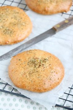 Havermoutbroodjes met oregano - Mind Your Feed