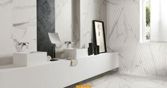 Find out all of the information about the FAP ceramiche product: indoor tile / wall / floor / porcelain stoneware ROMA. Marble Wall, Marble Tiles, Wall And Floor Tiles, Wall Tiles, Custom Lighting, Lighting Design, Italian Tiles, Encaustic Tile, Carrara