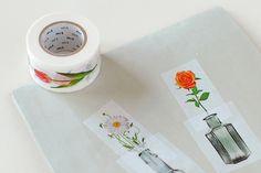 flower masking tape