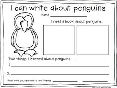 Winter Writing Kindergarten | Winter Writing for Firsties. $ Filled with fun and engaging first ...