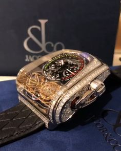Forget performance, a luxurious watch attached to a wrist just always appears to be a significant enhancement to any wardrobe. Brand names like Rolex and Cartier carry an air of authority that real… Fancy Watches, Expensive Watches, Stylish Watches, Luxury Watches For Men, Cool Watches, Luxury For Men, Luxury Lifestyle Men, Unique Watches, Wrist Watches