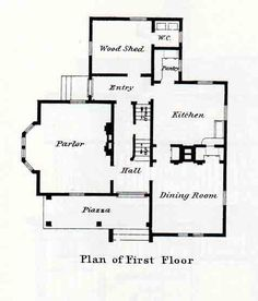 Folk victorian on pinterest victorian interiors for Original victorian house plans