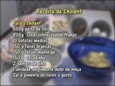 Culinária Judaica - Cholent