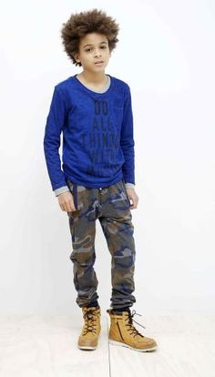 Electric blue: A/W 14/15 boys' trade show trend flash Tumble 'N Dry