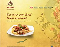 """Check out new work on my @Behance portfolio: """"Indian Restaurent in UK"""" http://on.be.net/1SBG69N"""