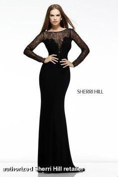 Look classic in this black dress