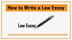 How to Write a Law Essay Best & Easy Essay Writing Guidelines in 2019 Easy Essay, Top 10 News, Essay Writing, Make It Yourself