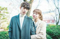 Nam joo-hyuk was lee sung-kyung's boyfriend in 2016 Weightlifting Fairy Kim Bok Joo Swag, Weightlifting Fairy Kim Bok Joo Wallpapers, Swag Couples, Couples In Love, Nam Joo Hyuk Lee Sung Kyung, Nam Joo Hyuk Wallpaper, Kdrama, Kim Book, Korean Drama Best