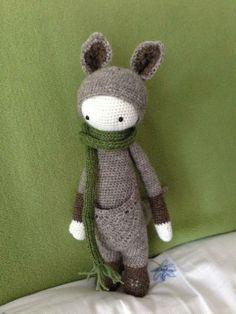 KIRA the kangaroo made by Ulla K.