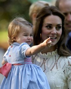 Princess Charlotte and her mother