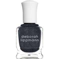 Deborah Lippmann Nail Polish - Express Yourself (6.745 HUF) ❤ liked on Polyvore featuring beauty products, nail care, nail polish, colorless, deborah lippmann, grey nail polish, deborah lippmann nail polish, clear nail polish and gray nail polish