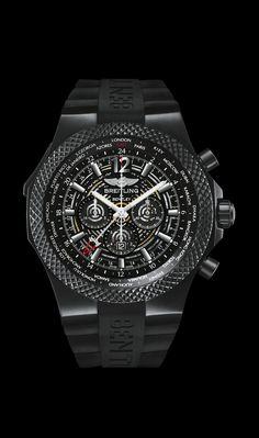 Bentley GMT Midnight Carbon - Breitling for Bentley