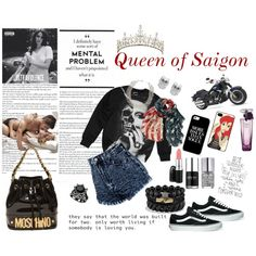 """Queen of Saigon"" by victoria-orleans on Polyvore"